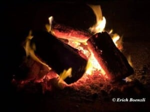 From Firewood to Fertilizer - Glowing fire