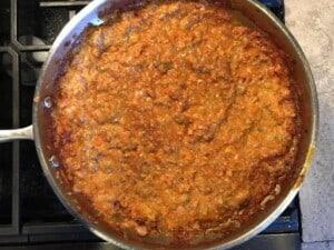 Lasagne al Forno - Bolognese sauce (Photo by Erich Boenzli)