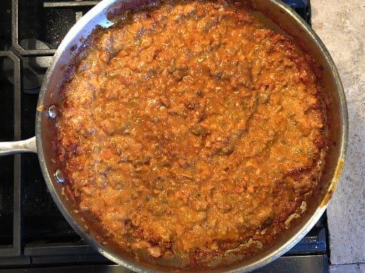 Bolognese sauce (Photo by Erich Boenzli)