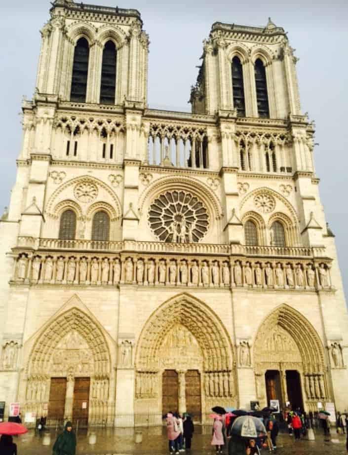Cathédrale Notre-Dame de Paris (Photo by Viana Boenzli)