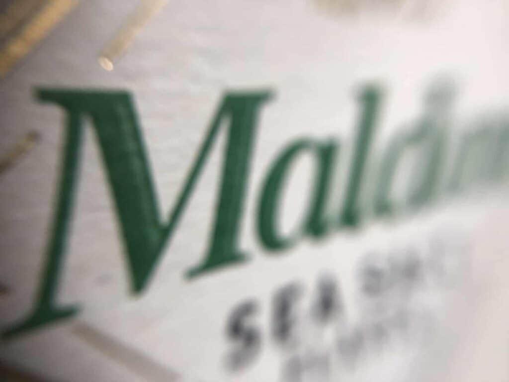 Maldon Sea Salt (Photo by Erich Boenzli)Maldon Sea Salt (Photo by Erich Boenzli)