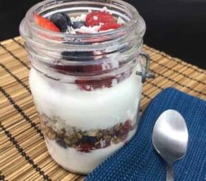 Parfait - Mixed Berry Breakfast Treat Parfait (Photo by Viana Boenzli)