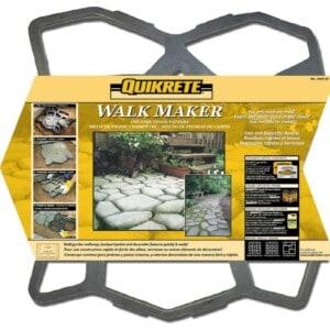 Faux Stone Path - Quikrete Walkmaker