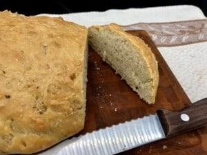 Herb Infused Ciabatta Bread - (Photo by Erich Boenzli)