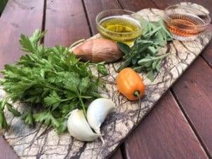 Chimichurri Recipe - (Photo by Erich Boenzli)