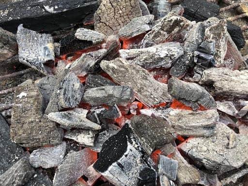 Chimichurri - 100% All-Natural Hardwood Lump Charcoal (Photo by Erich Boenzli)