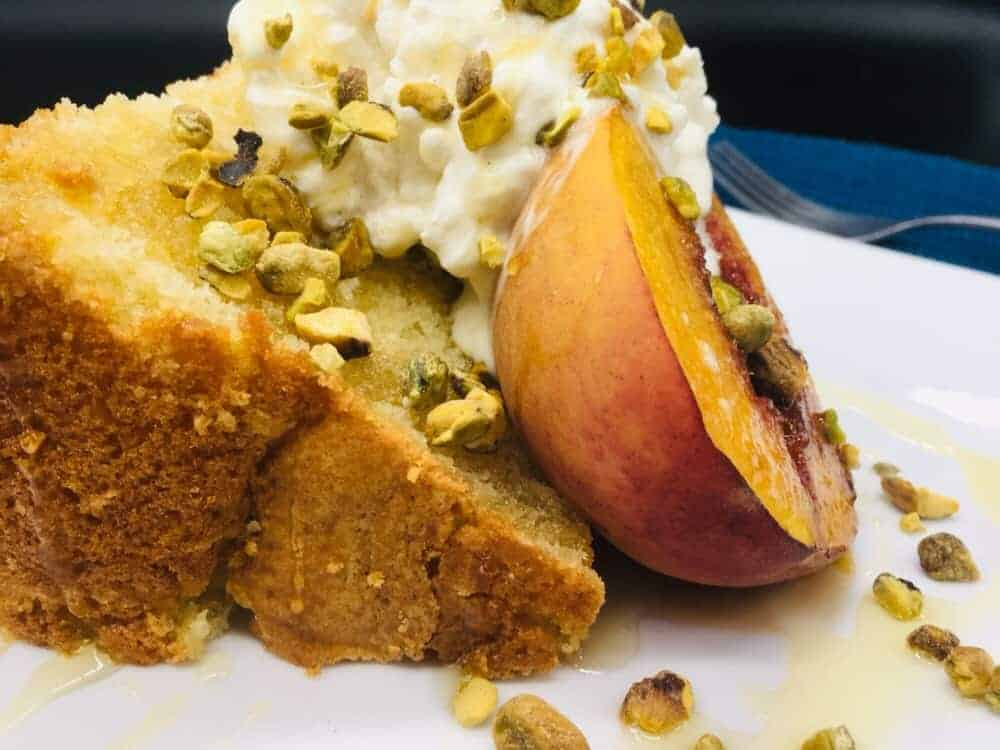 Peach Shortcake – Sweet, Creamy, Nutty, and Crazy Delicious