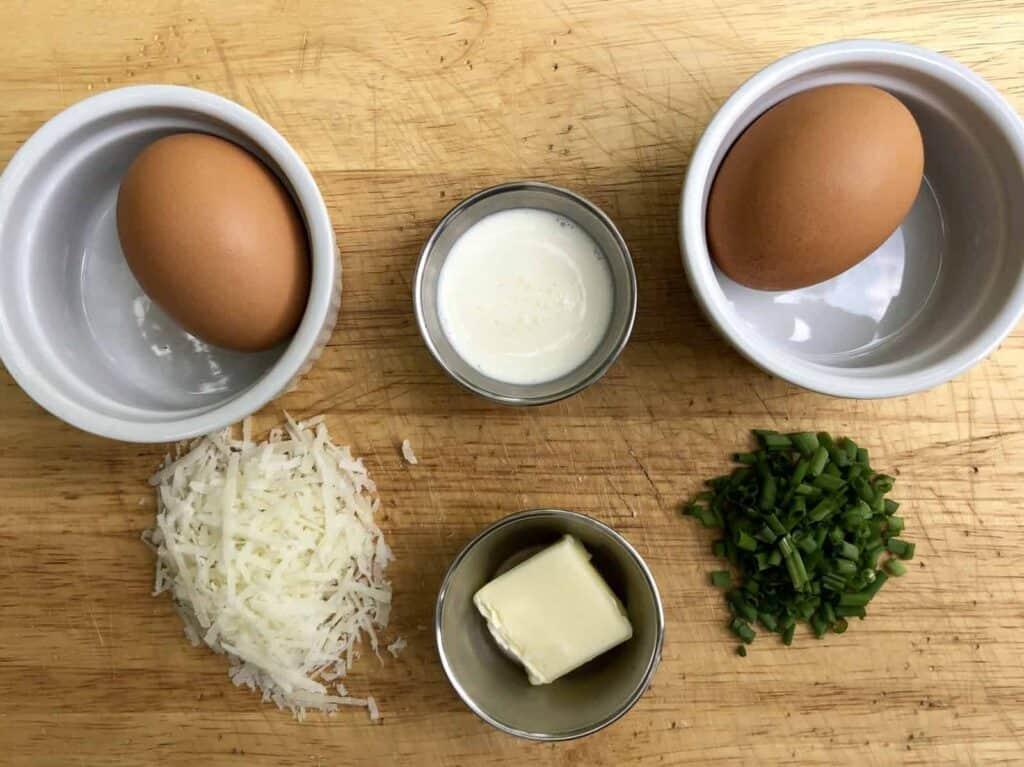 Shirred Eggs (Photo by Erich Boenzli)