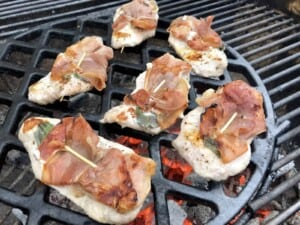Saltimbocca - 3 minutes cooking time (Photo by Erich Boenzli)
