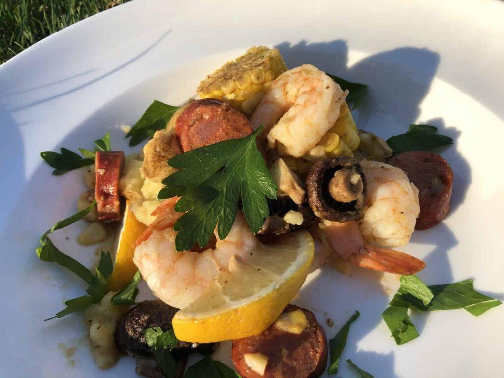Shrimp Boil (Photo by Erich Boenzli)