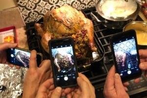 Thanksgiving Leftover Ideas - The turkey paparazzi (Photo by Erich Boenzli)