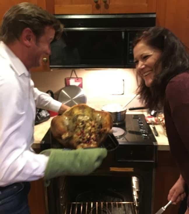 Thanksgiving - Turkey's done!