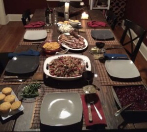 Thanksgiving Leftover Ideas - The Thanksgiving feast is served! (Photo by Viana Boenzli)
