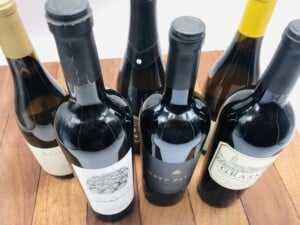 Thanksgiving - Our wine selection this year (Photo by Erich Boenzli)