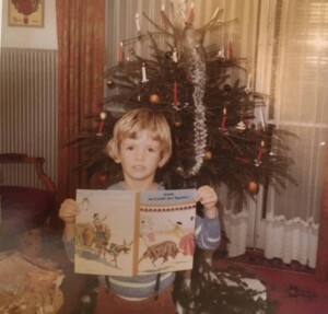 Christmas Traditions - Finally...presents! And Christkindl brought the book I wished for!
