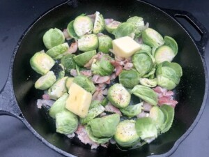 Brussels Sprouts with Bacon (Photo by Erich Boenzli)