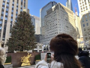 Tannenbaum - Probably the most famous of them all, the Christmas tree at Rockefeller Center (Photo by Erich Boenzli)