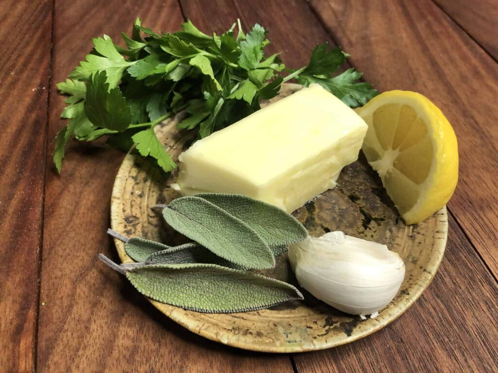 Compound Butter - My favorite ingredients for compound butter (Photo by Erich Boenzli)