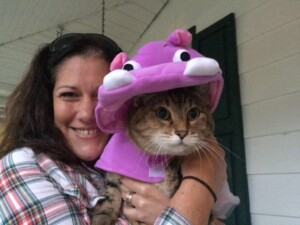 About Viana - Not sure Pearly loves her Halloween costume as much as I do