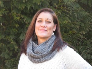 About Viana - Always crocheting something new, like this infinity scarf