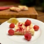 Lemon Raspberry Cheesecake Bars - Lemon Raspberry Cheesecake Bars...yes please! (Photo by Viana Boenzli)