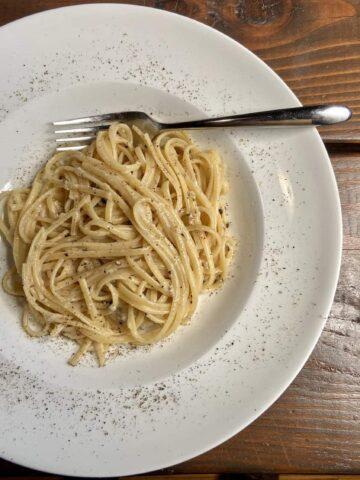 Cacio e Pepe Recipe - Welcome to Rome, you're welcome (Photo by Erich Boenzli)