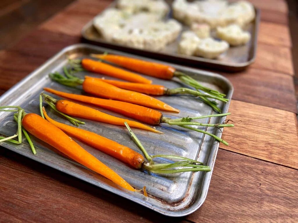 How to roast vegetables (Photo by Erich Boenzli)