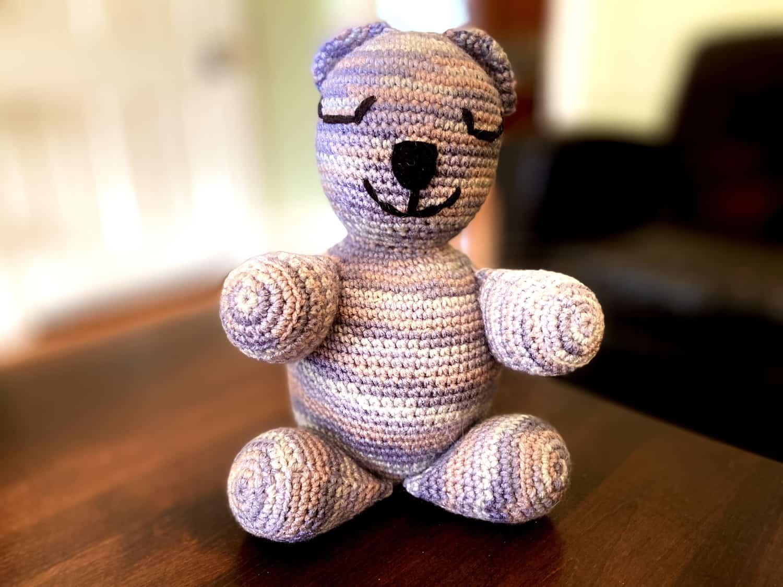 Free Teddy Bear crochet pattern - Amigurumi Today | 1125x1500