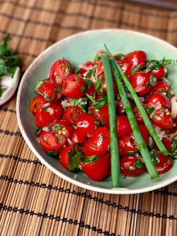 Tomato Salad (Photo by Erich Boenzli)