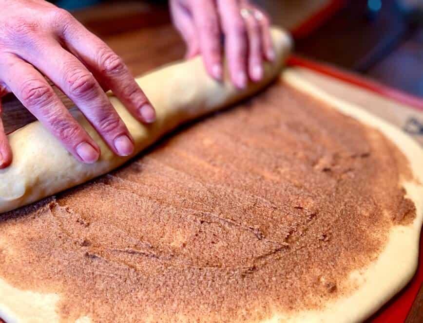 Homemade Cinnamon Rolls (Photo by Erich Boenzli)