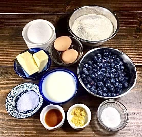 Blueberry Muffins (Photo by Viana Boenzli)