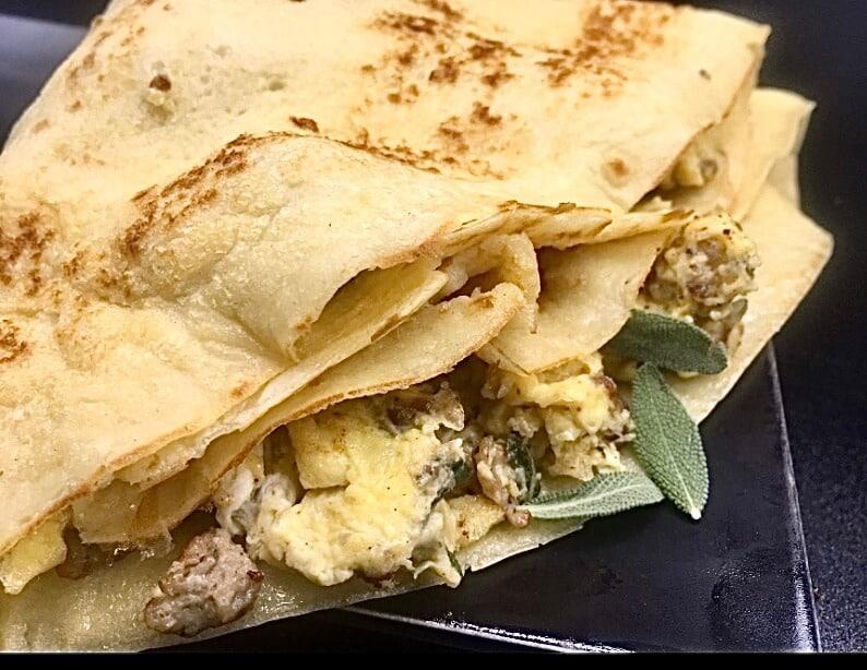 Crepes - Sage Breakfast Crêpe (Photo by Viana Boenzli)