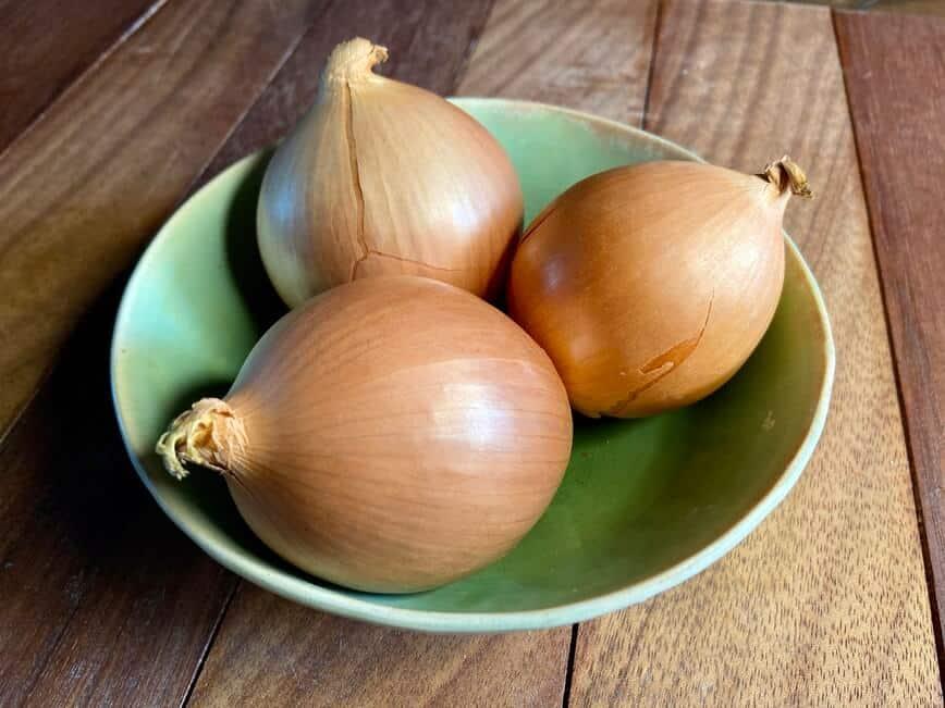Butter Baked Onion - Sweet Vidalia Onions (Photo by Erich Boenzli)