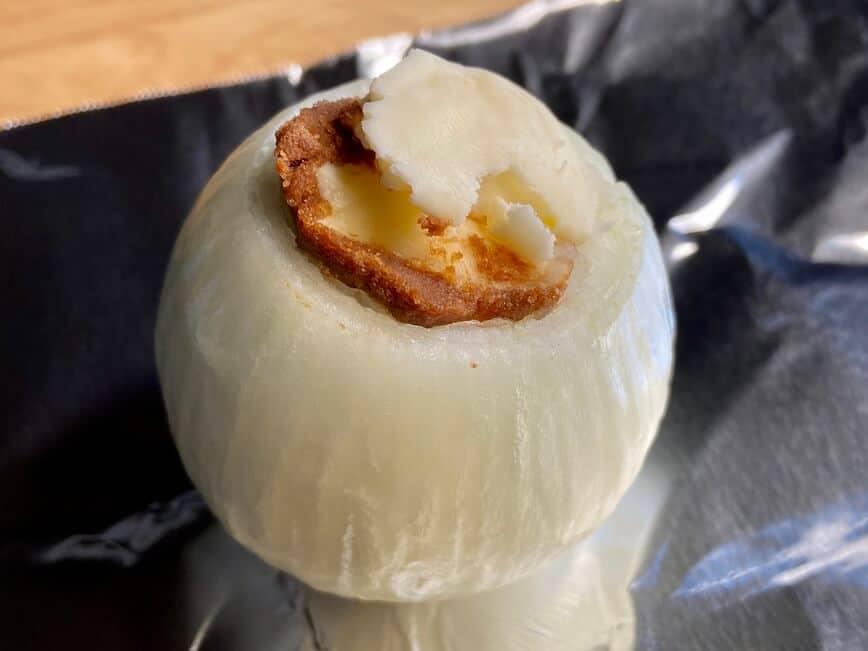 Baked Onion (Photo by Erich Boenzli)