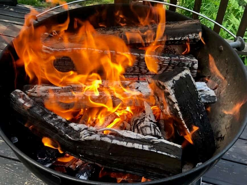 How to grill steaks - Mostly oak (Photo by Erich Boenzli)