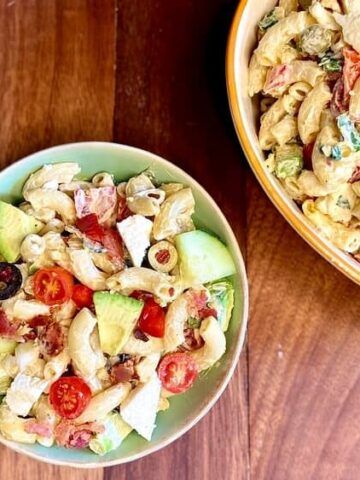 Macaroni Salad Recipe (Photo by Viana Boenzli)