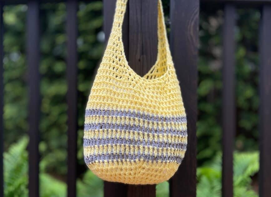 Crochet Market Bag (Photo by Viana Boenzli)