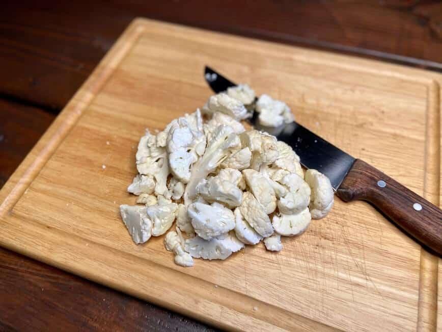 Cauliflower Rice and Oven Roasted Cauliflower (Photo by Erich Boenzli)