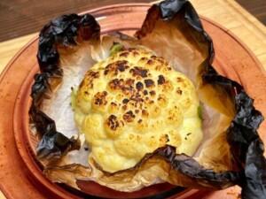 Cauliflower Rice and Oven Roasted Cauliflower - Deliciously creamy oven roasted cauliflower (Photo by Erich Boenzli)