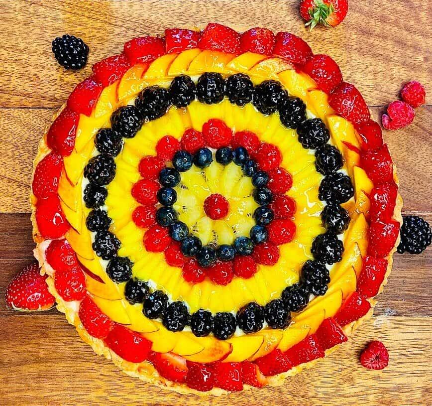 Fruit Tart Recipe (Photo by Viana Boenzli)