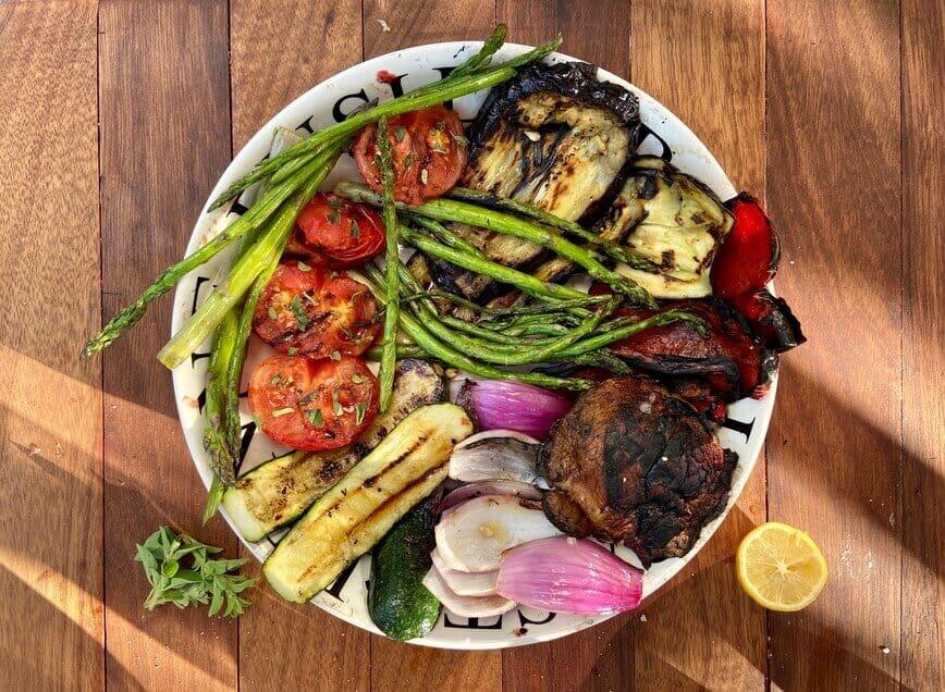 Grilling Vegetables - Eat more vegetables! (Photo by Erich Boenzli)