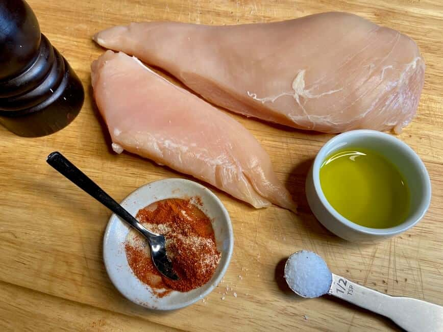 How to cook chicken breast - Ready, set, go (Photo by Erich Boenzli)