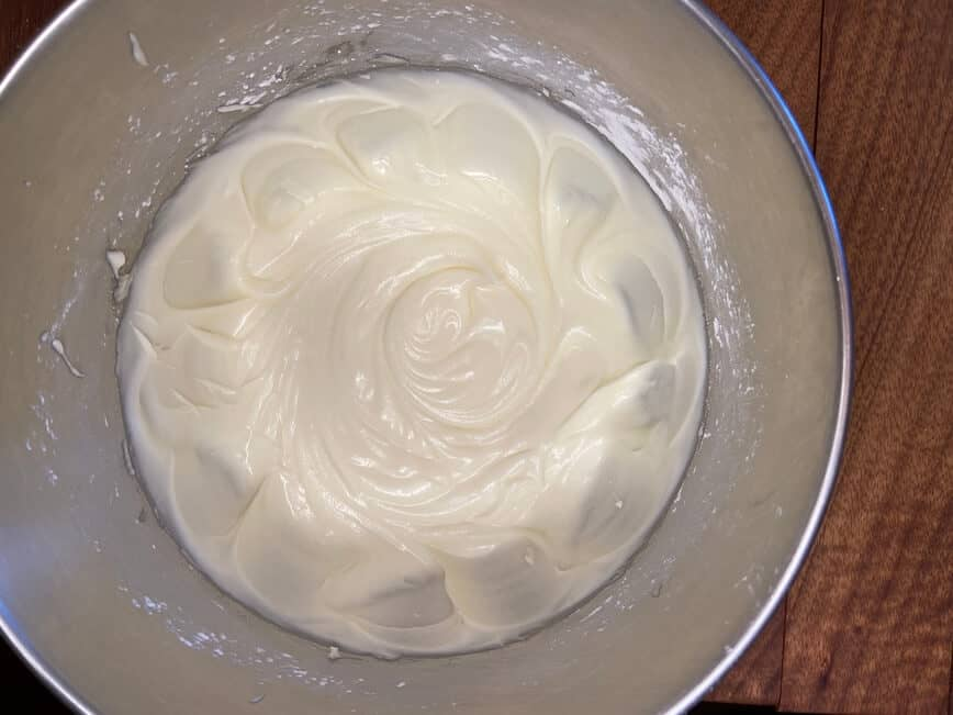 Berry Chantilly Cake - whipped cream cheese mascarpone and powdered sugar (Photo by VIana Boenzli)