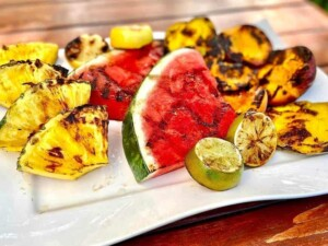 Grilling Fruits - Grilling fruits is easy and delicious (Photo by Erich Boenzli)