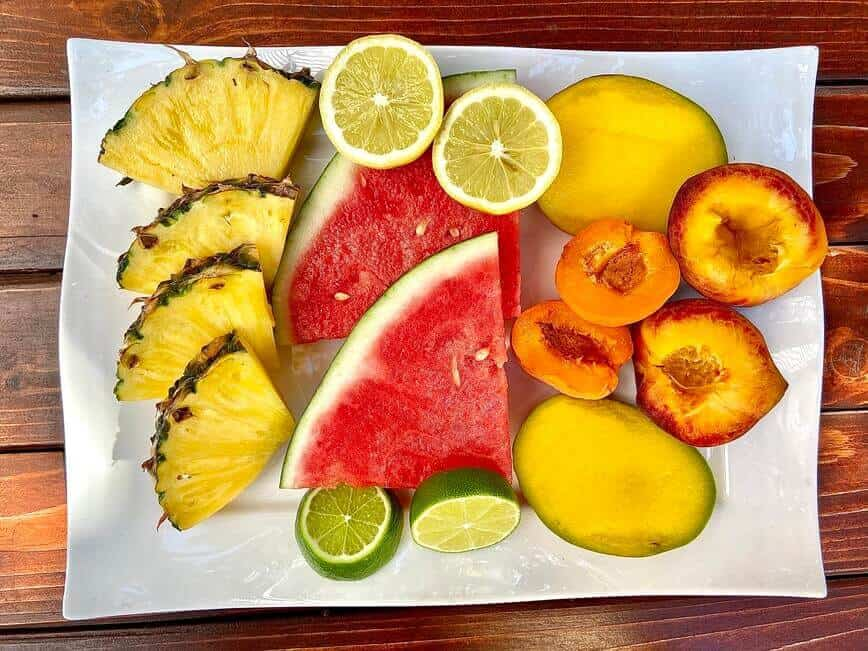 Grilling Fruits (Photo by Erich Boenzli)