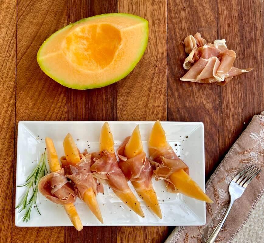 Prosciutto and Melon (Photo by Viana Boenzli)