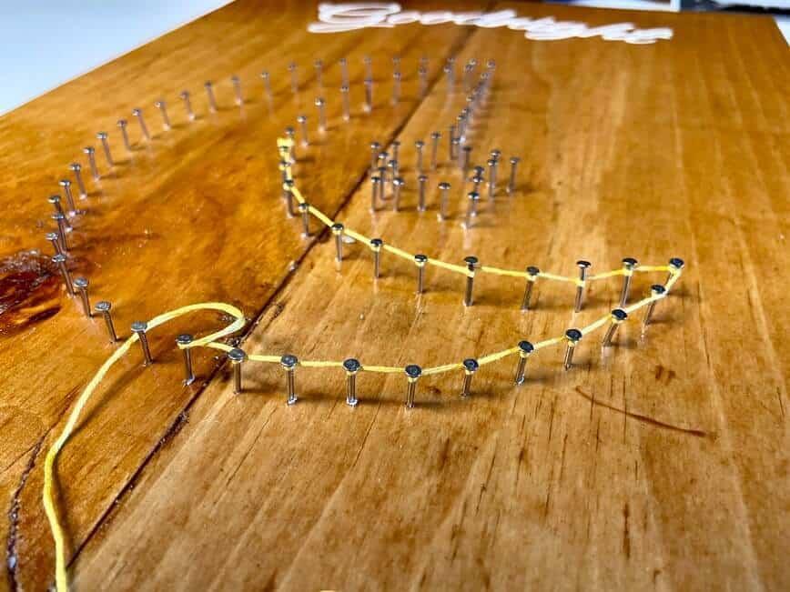 String Art (Photo by Viana Boenzli)