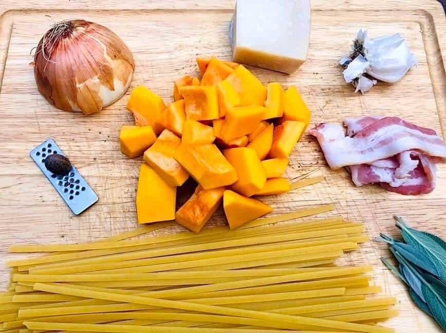 Butternut Squash Pasta (Photo by Erich Boenzli)