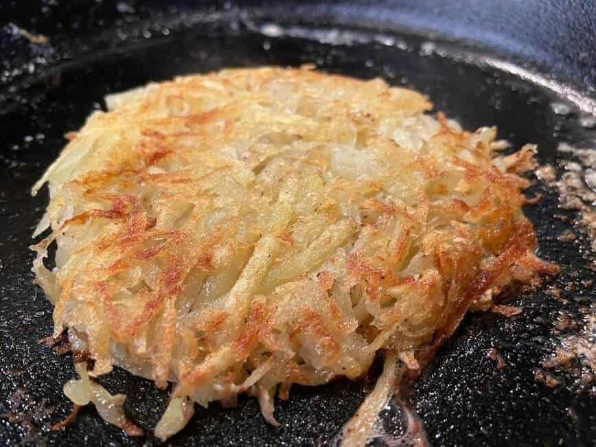 How to make hash browns - Hash Brown Patty (Photo by Viana Boenzli)