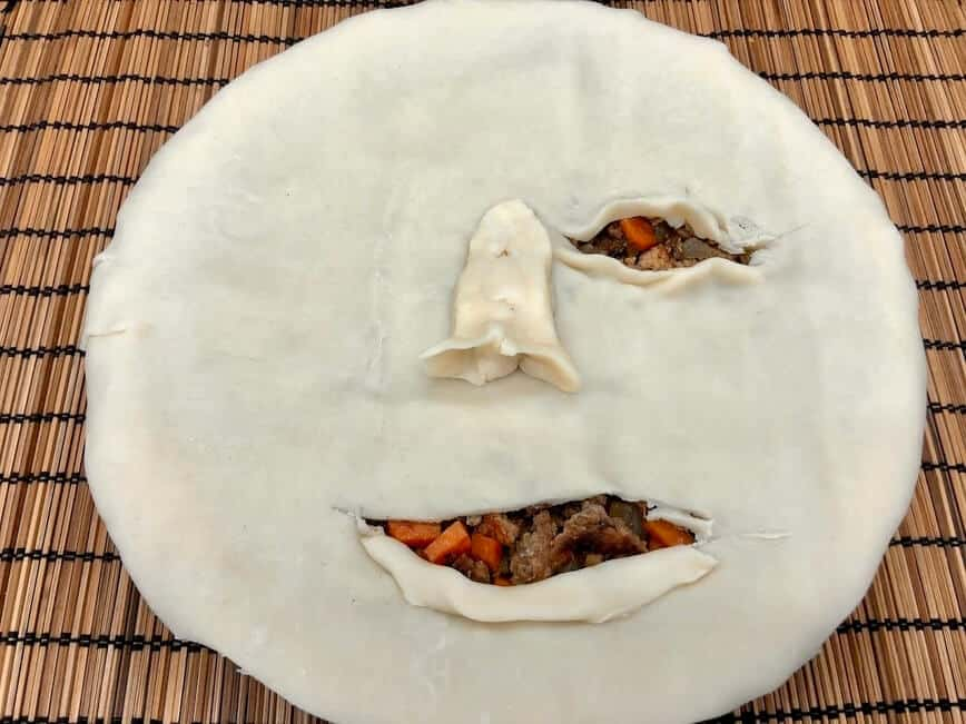 Face Meat Pie - Get creative, it's all in your head :) (Photo by Erich Boenzli)